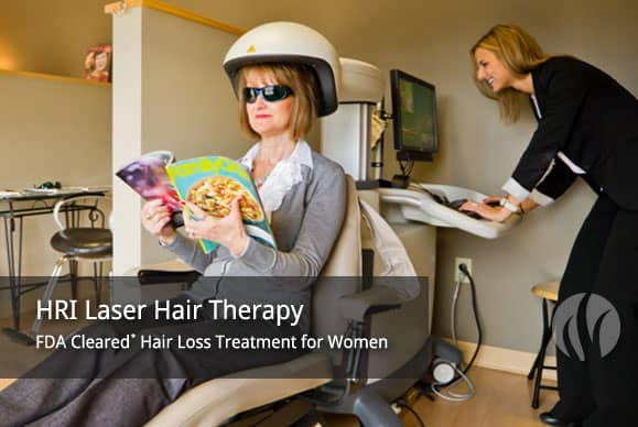 Laser Hair Loss Treatment for Women. FDA Approved.