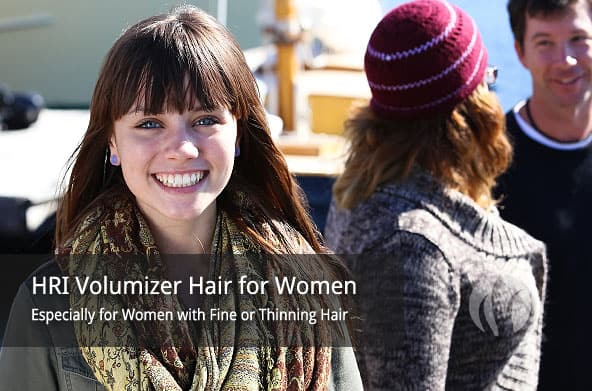 Volumizer Hair Additions for Women with Thinning Hair