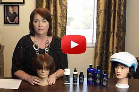 Hair Loss Treatment Product Demo